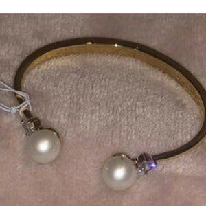 NWT Kate ♠️ Spade Pearls of Wisdom Cuff Bracelet